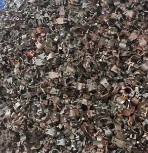 旧钢管脚手架扣件回收
